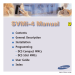 Samsung SVMi-4 User guide