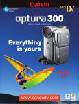 Canon Optura 300 Specifications