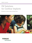 FM Solutions for Cochlear Implants