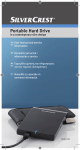 Silvercrest External Hard Drive User manual