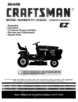 Craftsman EZ3 917.256552 Product specifications