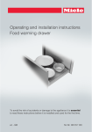 Miele ESW 6229 Operating instructions