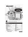 Sharp 32C540 Operating instructions