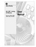 AB Quality 1746-P1 User manual