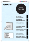 Sharp FU-21SE Specifications