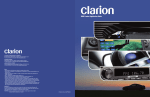 Clarion DPH910 Specifications