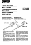 Makita HTR7610 Instruction manual