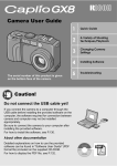 Ricoh GX8 User guide
