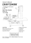 Craftsman 137.215280 Operating instructions