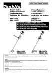 Makita RBC2510G Instruction manual
