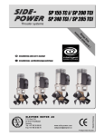 Side-Power SP 200 TCi User`s manual