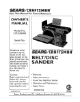 Craftsman 319.226560 Instruction manual