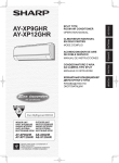 AY-XP9GHR/XP12GHR Operation-Manual GB FR ES IT