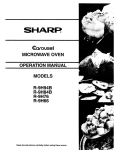 Sharp R-9H76 Specifications