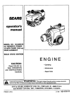 Craftsman 143.994011 Operator`s manual