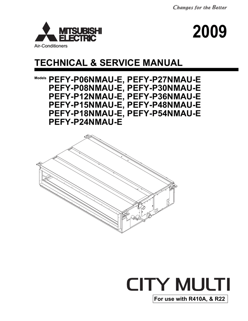 Par 21maa Wiring Diagram Free Download Mitsubishi Electric Pefy P06 Service Manual