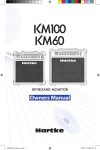 Samson KM200 Specifications