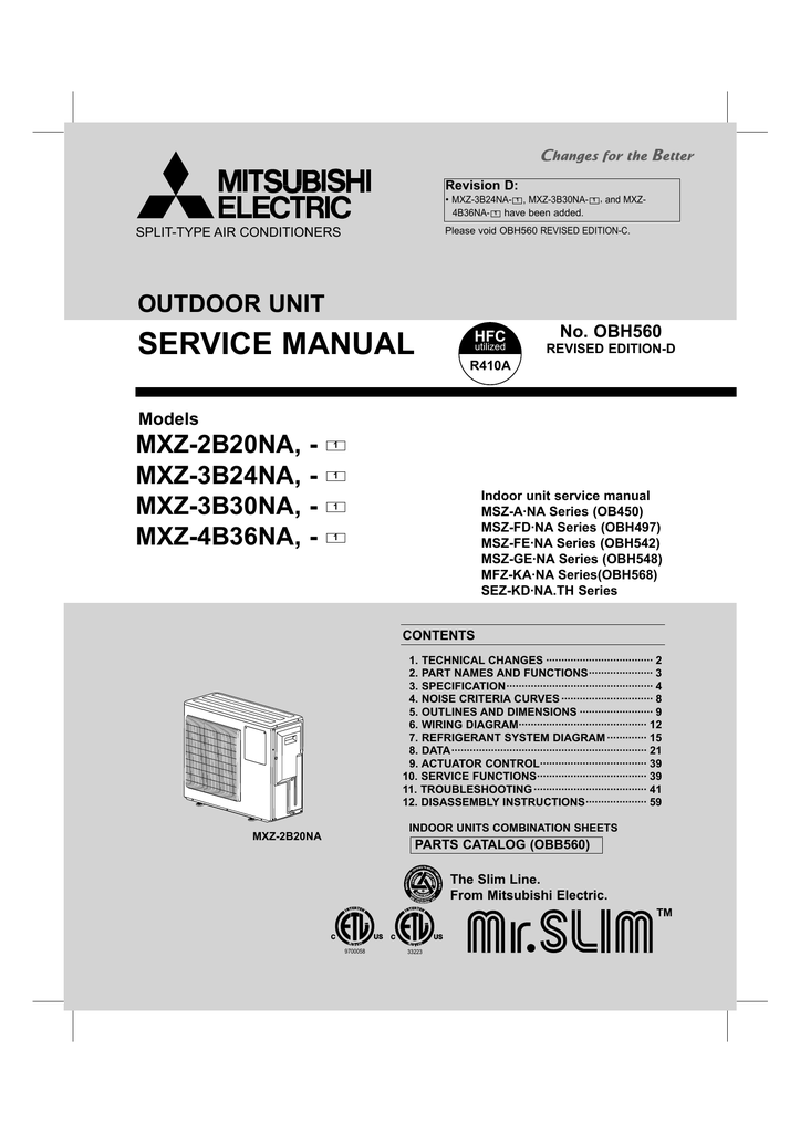 Mitsubishi Fd 45 Wiring Diagrams Westinghouse Massey Harris Electric Msz Ana Series Service Manual On