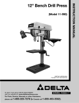 Delta 11-990 Instruction manual