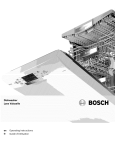 Bosch SPE5ES55UC/07 Operating instructions