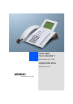 Siemens optiPoint 600 office Operating instructions