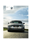 BMW 325I - BROCHRUE 2010 Owner`s manual