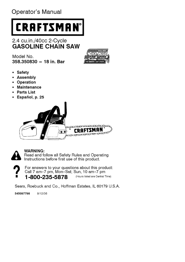 31 Craftsman 40cc Chainsaw Fuel Line Diagram
