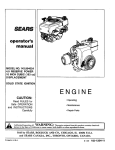 Craftsman 143.994024 Operator`s manual