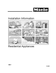 Miele ESW 760-25 Technical information