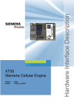 Siemens XT55 Specifications