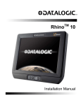 RHINO TM 100 Installation manual