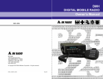 BK Radio DMH APCO Project 25 Owner`s manual