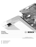 Bosch SPE5ES55UC/04 Operating instructions