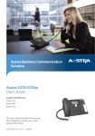 Aastra 5370ip User`s guide