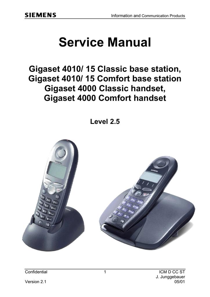 Инструкция По Эксплуатации Siemens Gigaset 4000 Comfort.Rar