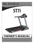 BLADEZ ST7i Owner`s manual