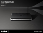 D-Link WBR2310 - RangeBooster G Wireless Router User manual