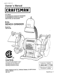 Craftsman 152.211240 Operating instructions