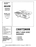Sears 113.226424 Owner`s manual