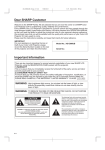 Sharp XG-E690UB Operation Instruction manual