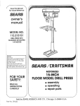 Craftsman 113.213151 Specifications