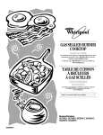 Whirlpool GLS3074 Use & care guide