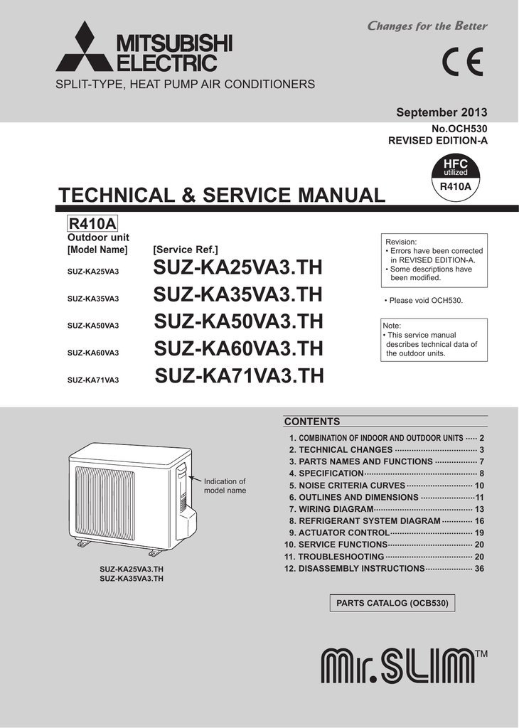 Mitsubishi Electric Air Conditioning Wiring Diagram