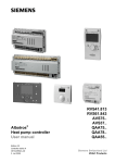 Siemens Albatros2 AVS37 User manual
