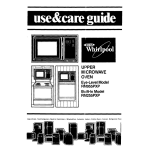 Whirlpool RM255PXP Use & care guide