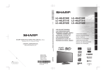 Sharp LC-40LE731E Specifications