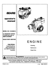 Craftsman 143.996514 Operator`s manual