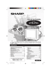 Sharp 27R-FS1 Operating instructions