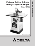Delta 43-420 Instruction manual