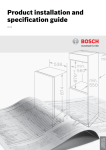 Bosch HMT72G450B Specifications